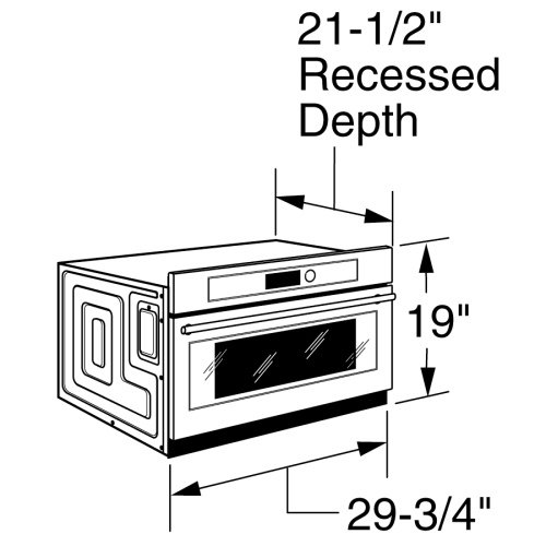 small resolution of model zsc1201jss monogram built in oven with advantium speedcook technology 120v