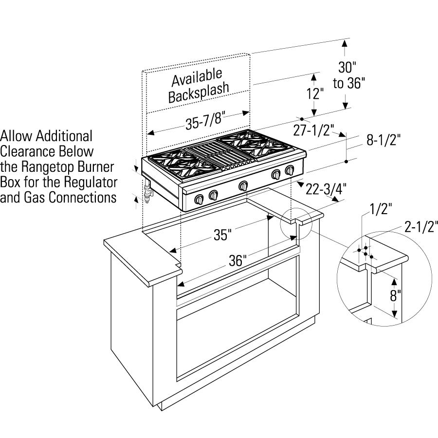 medium resolution of model zgu364ndpss monogram 36
