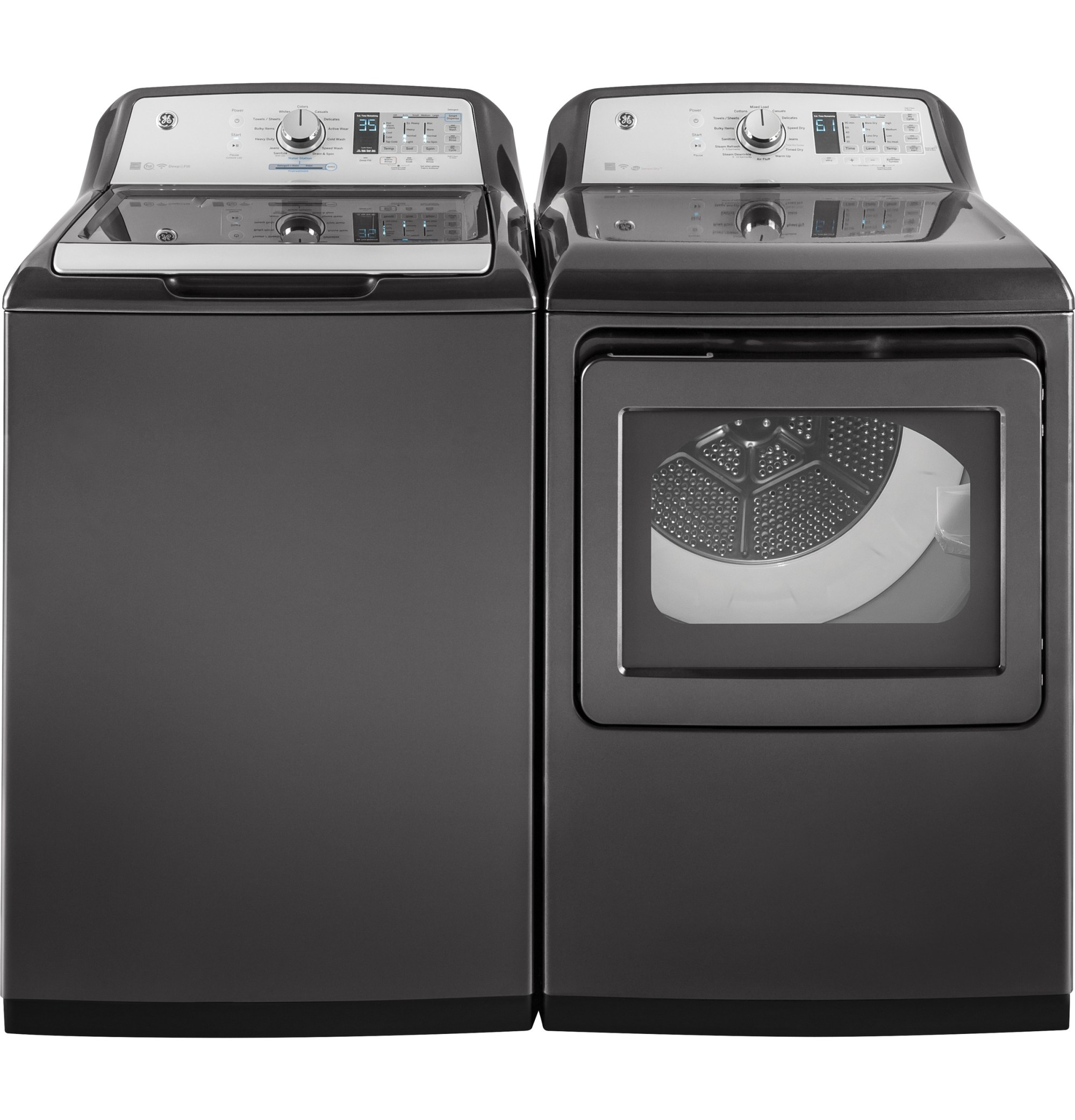hight resolution of model gtw750cpldg ge 5 0 cu ft capacity washer with stainless steel