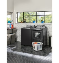 model gtw750cpldg ge 5 0 cu ft capacity washer with stainless steel [ 2400 x 2500 Pixel ]