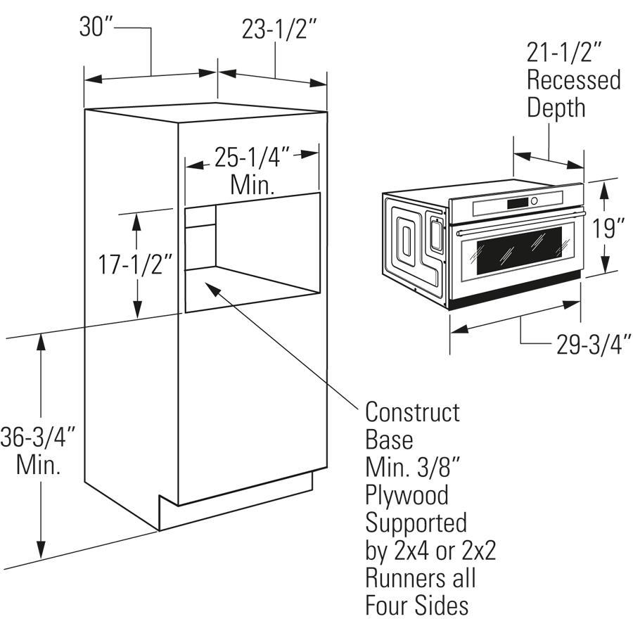medium resolution of model zsc2201jss monogram built in oven with advantium speedcook technology 240v