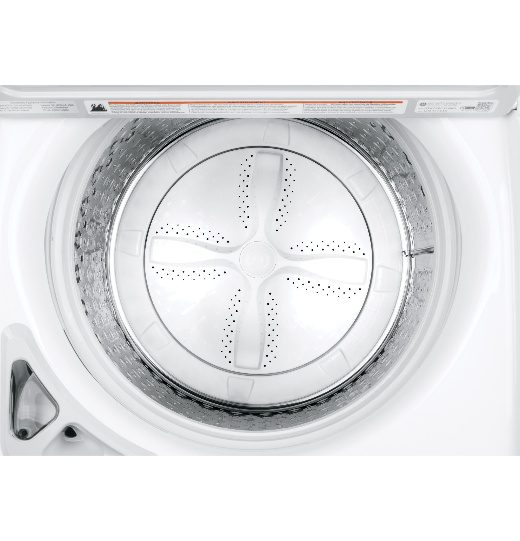 hight resolution of model gtw750cslws ge 5 0 cu ft capacity washer with stainless steel