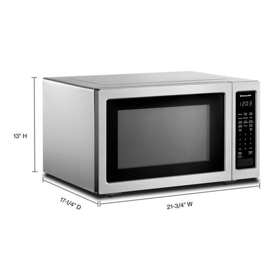 21 3 4 countertop microwave oven