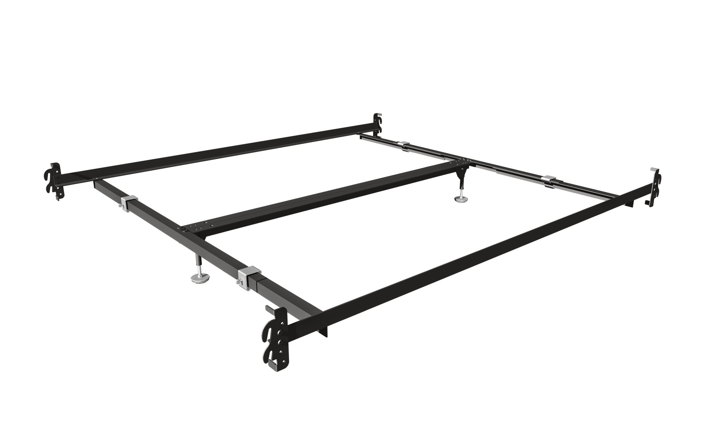 756 qk hook on bed rails for queen and
