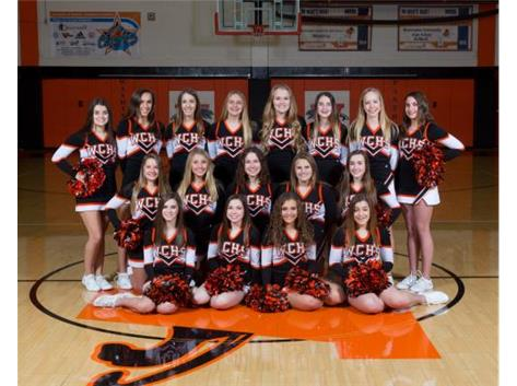 Washington Community HS Girls CHEERLEADING BASKETBALL Activities