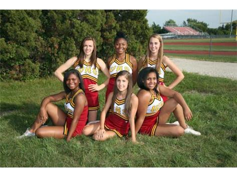 Westmont High School Girls CHEERLEADING Activities