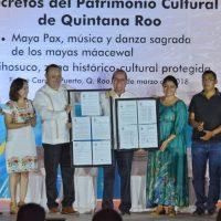 Maya pax y Tihosuco son patrimonios culturales de Quintana Roo