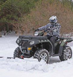 winter atv plowing [ 1280 x 960 Pixel ]