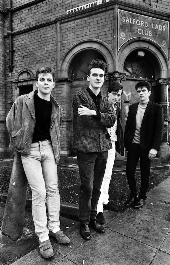 Image result for morrissey salford lads club