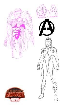 Hawkeye & Black Widow 2099