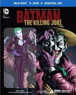 The Killing Joke: Deluxe Edition with figure