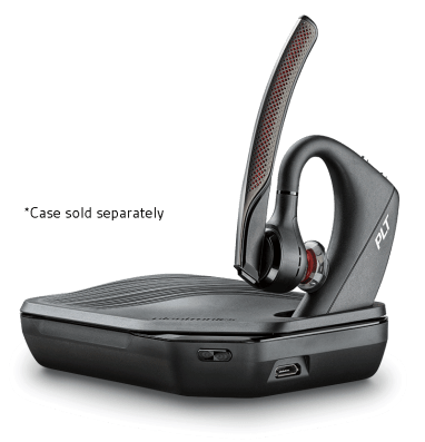 Charge Case can also be used as a stand for your headset