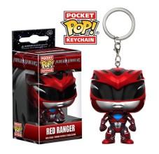 MMPR-Red Keychain