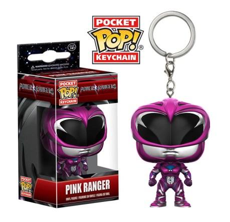 MMPR-Pink Keychain