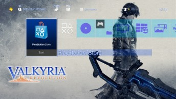Valkyria Revolution - PS4 theme 02