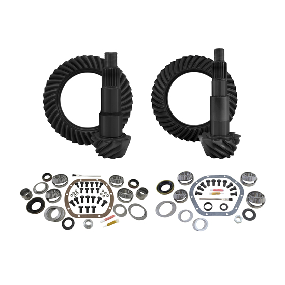 Yukon Gear & Install Kit package for Jeep JK non-Rubicon