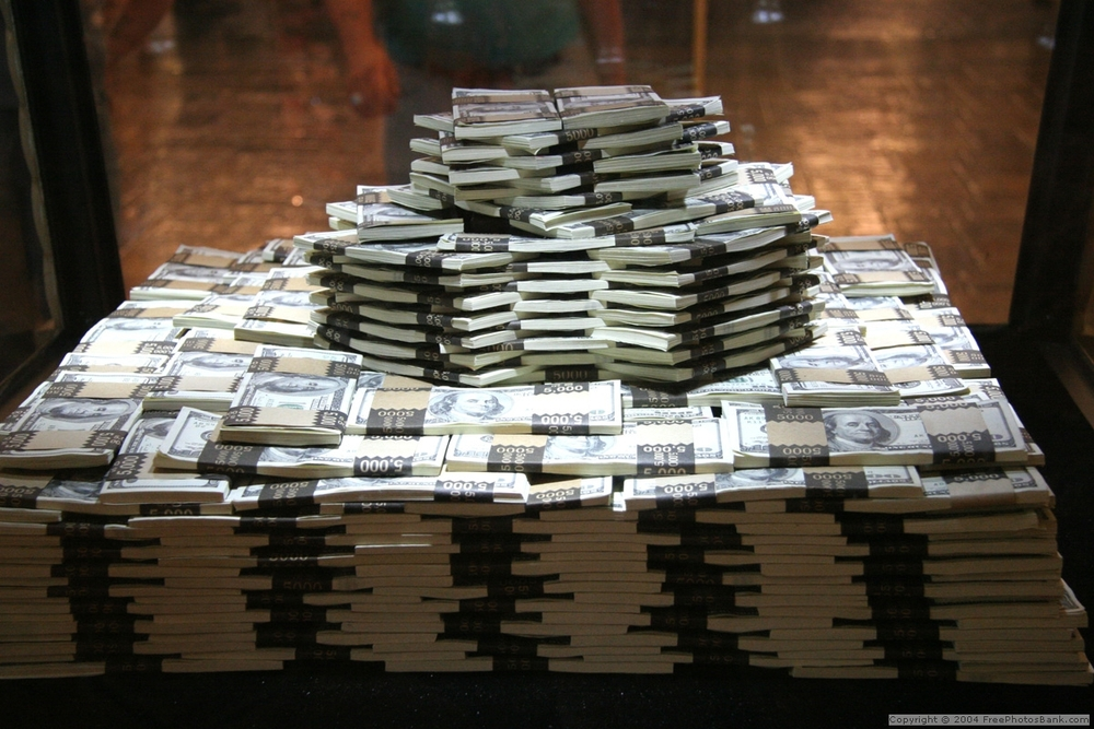 Image result for stacks of cash