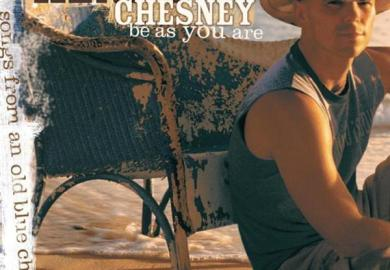 Kenny Chesney Blue Chair