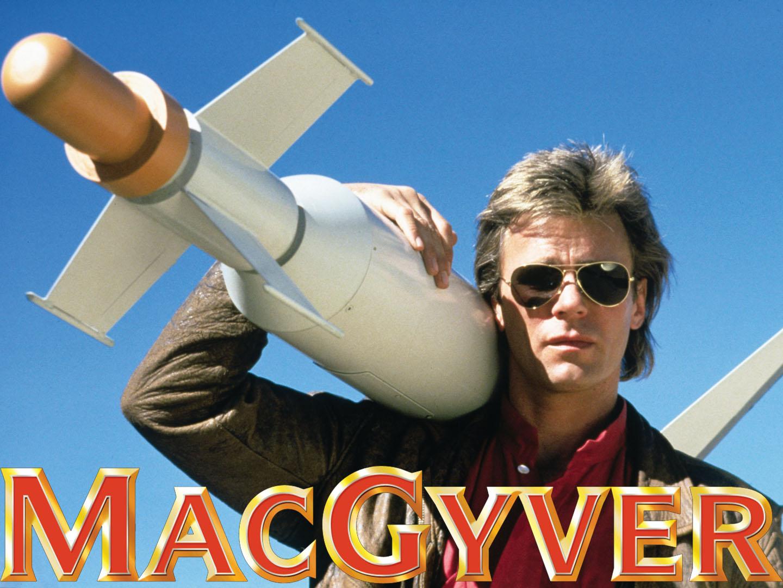 MacGyver - Sure he wasn't a Kiwi?