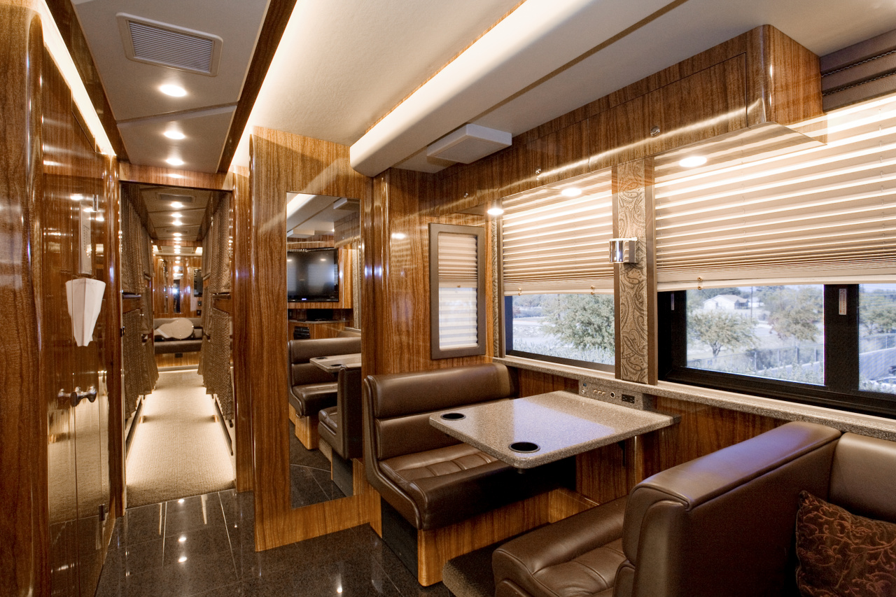 Justin Bieber Tour Bus Interior