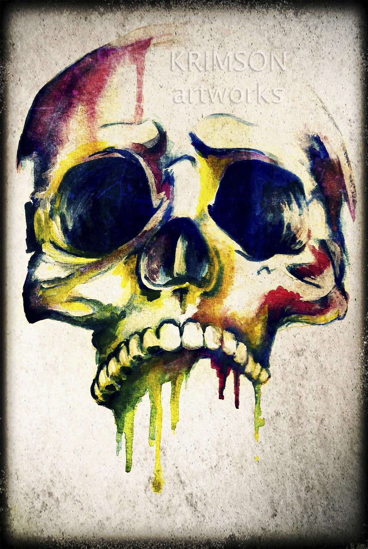 Art Drawing Skull Tattoo