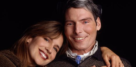 Image result for christopher reeve and dana reeve