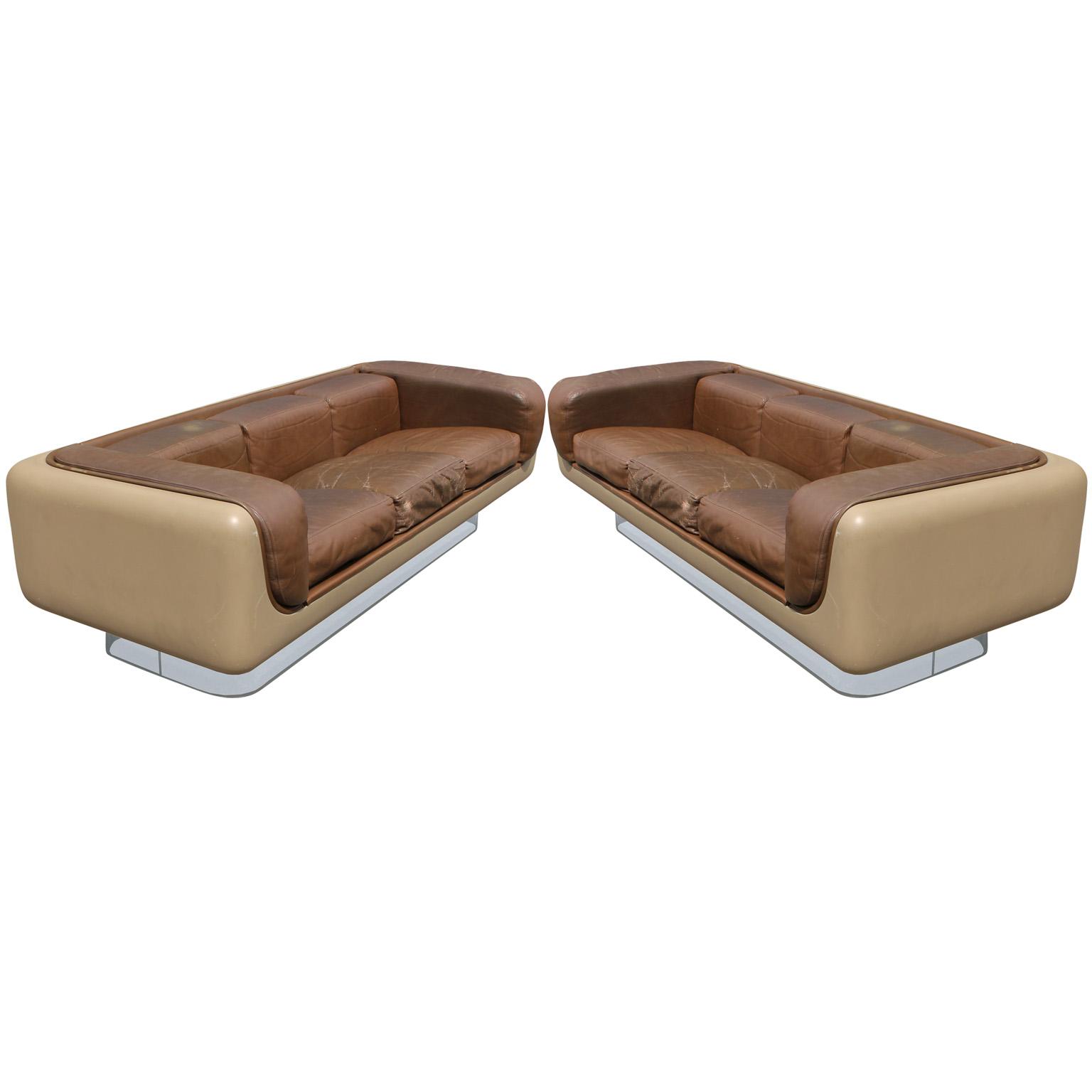 steelcase sofa platner sofas reviews 2017 superb pair of warren for