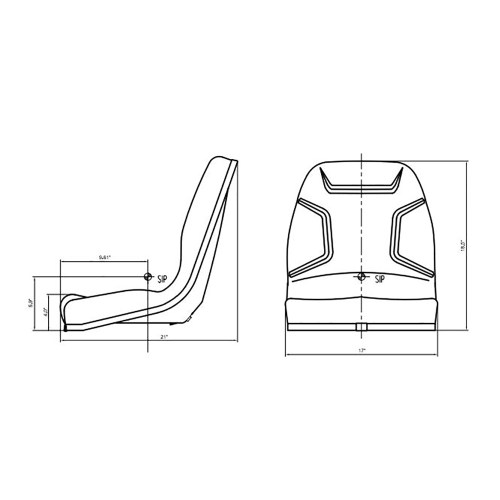 small resolution of reliable aftermarket parts 34159 18400 34159 18400 kubota tractor heavy duty seat assembly b1550 b1700 b1750 b20