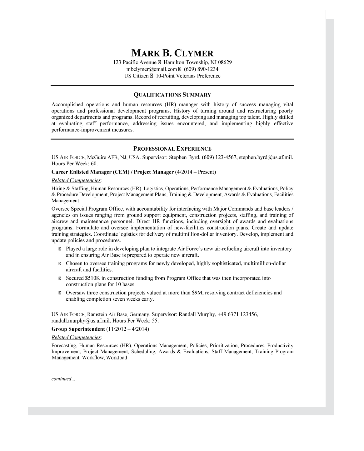 Top Resume Tips for Writing a Federal Resume  TopResume