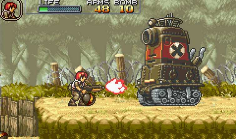 Image result for metal slug advance