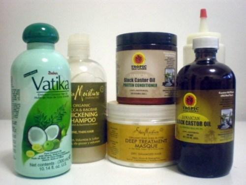 staple hair care items