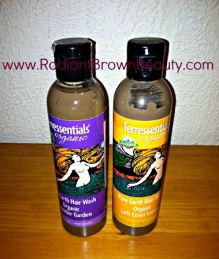 terressentials pure earth hair wash