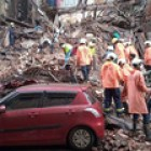 Mumbai: Several feared trapped as two buildings collapse after heavy rainfall