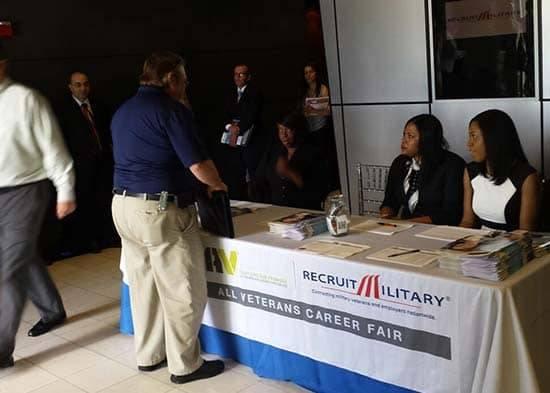 Veterans job fairs