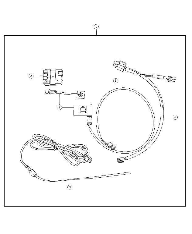 2005 jeep wrangler third brake light wiring