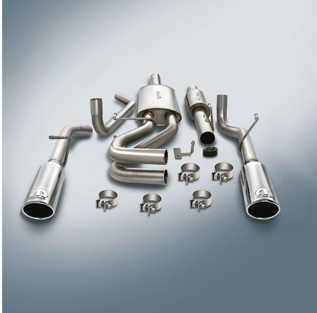 exhaust system cat back 5 7l engine