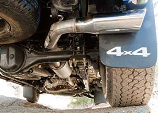 trd catback performance exhaust system double cab access cab short wheel base
