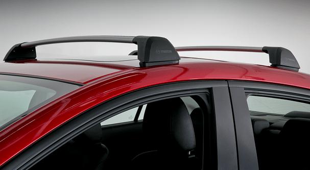 2014 2018 mazda mazda3 removable roof rack genuine oem