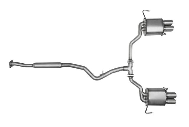2015-2019 Subaru WRX Performance Exhaust 2015-2017 STI