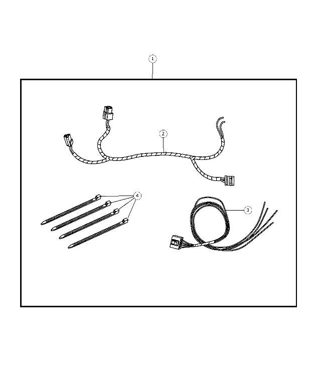 Genuine OEM 2006-2014 Mopar Wire Harness 56045795AB