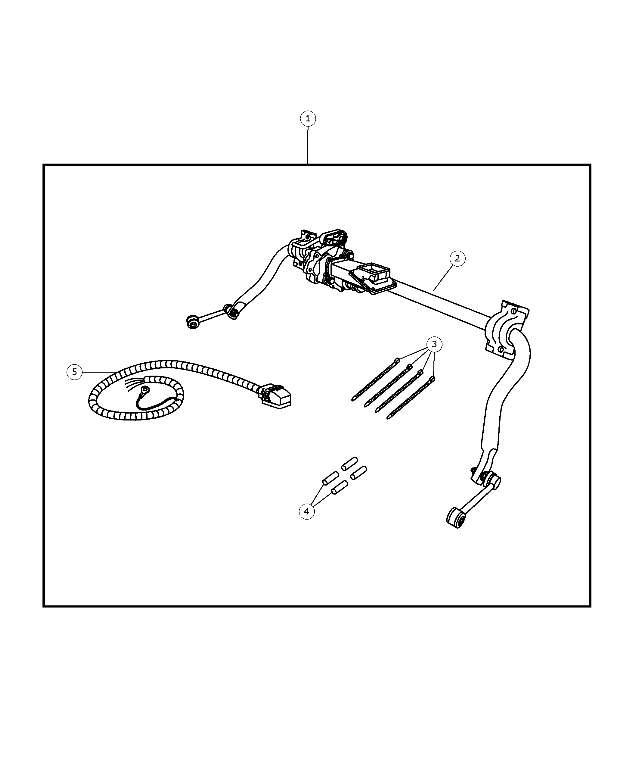 2007-2016 Jeep Wrangler Electronic Stabilizer Bar Kit