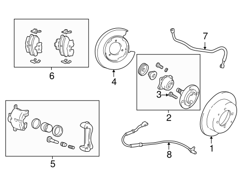 Service manual [2001 Hyundai Xg300 Rear Caliper Seal