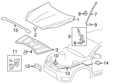 Oem Parts: Oem Parts Toyota Rav4