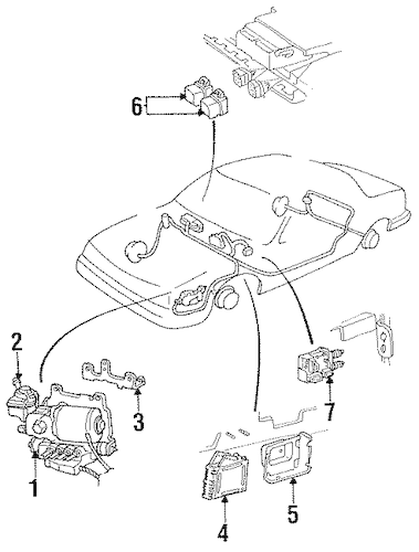 ANTI-LOCK BRAKES for 1993 Cadillac DeVille (Base)
