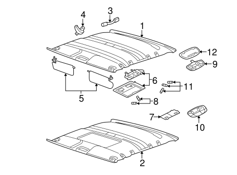 Service manual [How To Remove Headliner From A 2008