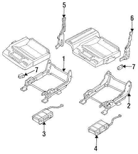 Buick Rainier Parts Diagram Seat. Buick. Auto Wiring Diagram