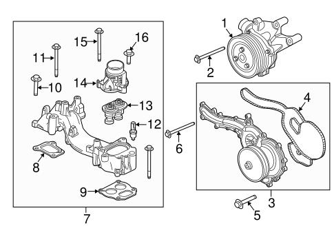 Ford Mercury Lincoln Coolant Temperature Sensor GENUINE