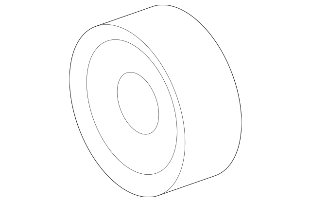 IDLER PULLEY for 2007 Dodge Sprinter 2500|68018072AA