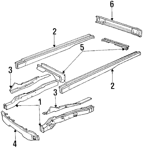 FRAME & COMPONENTS for 1996 Chevrolet P30 (Base)