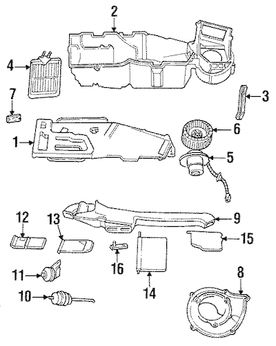Service manual [1994 Dodge Grand Caravan Engine Fan